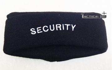 Εικόνα της Σκούφος Μαύρος Security με κέντημα