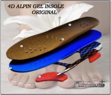 Εικόνα της Ανατομικοί ορθοπεδικοί πάτοι ειδικά σχεδιασμένοι με gel και δέρμα 4D Alpin