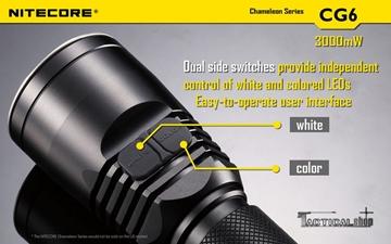 Εικόνα της Επαναφορτιζόμενος φακός Led Nitecore Chamelon Series CG6 NIght Hunting Kit