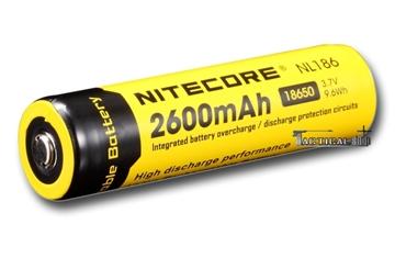Εικόνα της Επαναφορτιζόμενη μπαταρία Nitecore Li-on 18650 / 2600mAh