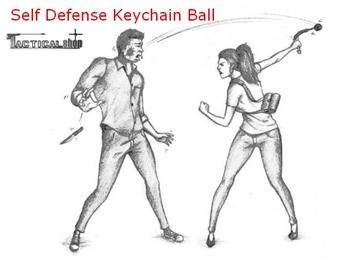 Εικόνα της Μπρελόκ Αυτοάμυνας Defense Ball Perfecta DBI