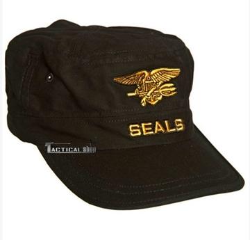 Εικόνα της Nany Seals καπέλο jockey Mil-Tec μαύρο