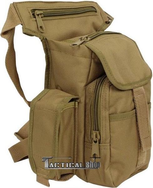 7dd0880f2b8 tacticalextreme - Τσαντάκι ώμου μηρού Mil-Tec Multi Pack μπεζ