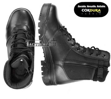 Εικόνα της Άρβυλα Με Φερμουάρ Mil-Tec Tactical Leather/Cordura Boots