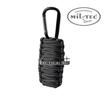 Εικόνα της Κιτ επιβίωσης Mil-Tec paracord Survival Kit μαύρο μικρό
