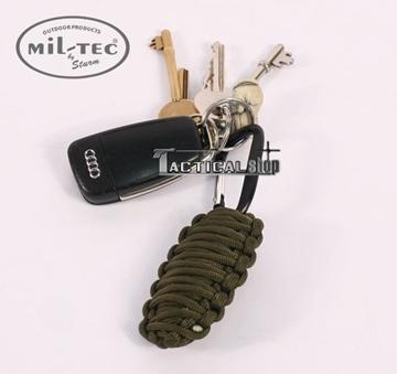 Εικόνα της Κιτ επιβίωσης Mil-Tec paracord Survival Kit χακί μικρό