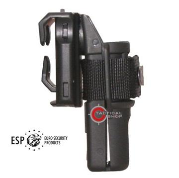 Εικόνα της ESP περιστρεφόμενη πολυμερική θήκη για γκλοπ ή φακό