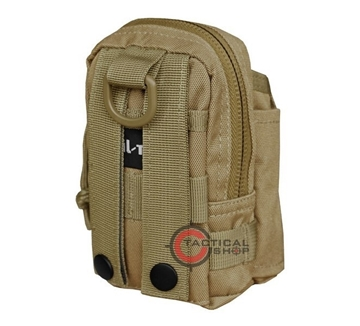 Εικόνα της Τσαντάκι Μπεζ Mil-Tec Commando Belt Pouch