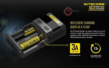 Εικόνα της Ταχυφορτιστής Nitecore SC2 Charger