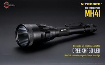 Εικόνα της Επαναφορτιζόμενος Φακός 2150 lumens Nitecore Multi Task Hybrid MH41