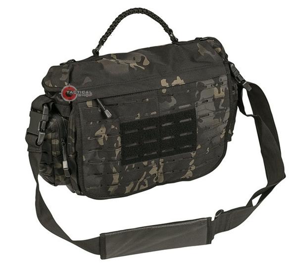 00c0c204b3 Picture of Τσάντα σακίδιο Ώμου Mil-Tec Tactical Paracord Bag Μαύρη  Παραλλαγή 10L