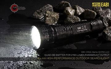 Εικόνα της Φακός Led Nitecore Exploler EA81 2150 Lumens