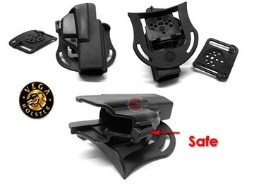 Εικόνα της Πιστολοθήκη Vega Shockwave SHWC009L Glock mod. 17-22-31-37