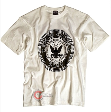Εικόνα της Μπλούζα Mil-Tec T-shirt Navy Άσπρη