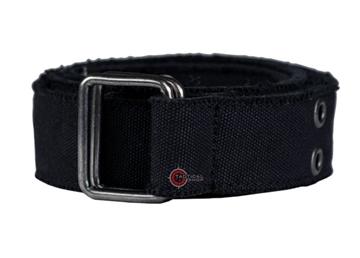 Εικόνα της Ζώνη Mil-Tec Canvas Black Belt 40 mm