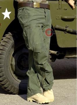 Εικόνα της Παντελόνι Vintage Mil-Tec Pilot Cargo Coyote
