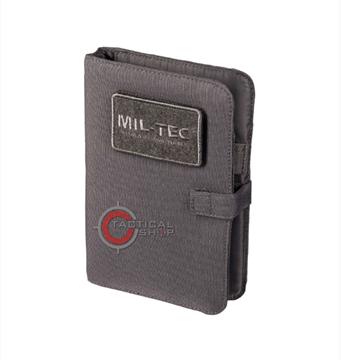 Εικόνα της Σημειωματάριο Μil-Tec Tactical Notebook Urban Grey