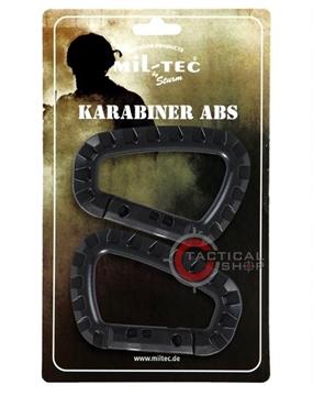 Εικόνα της Carabiner Mil-Tec ABS Μαύρο