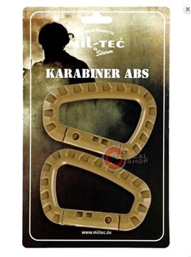 Εικόνα της Carabiner Mil-Tec ABS Μπεζ