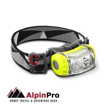 Εικόνα της Φακός Επαναφορτιζόμενος Κεφαλής Led AlpinPro HL-03R 200 Lumens