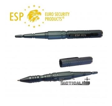 Εικόνα της ESP Tactical Pen & Kubotan Μαύρος ΚΒΤ-02 στυλός αυτοάμυνας