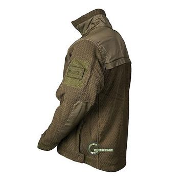 Εικόνα της Fleece Jacket Hextac Elite Mil-Tec Χακί