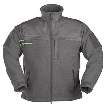 Εικόνα της Fleece Jacket Hextac Elite Mil-Tec Γκρι