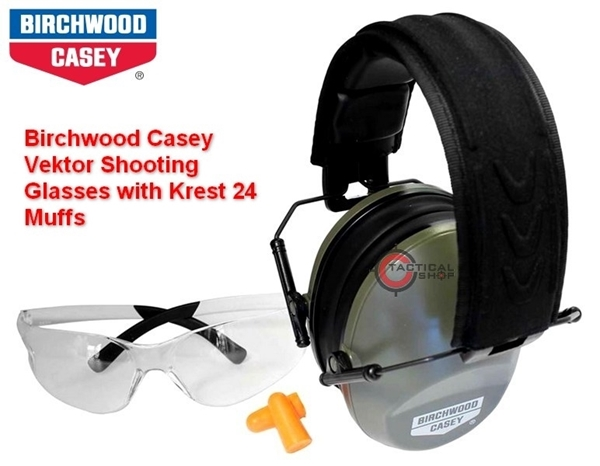 0a28464a8c tacticalextreme - Σετ Γυαλιά Ωτοασπίδες Birchwood Casey
