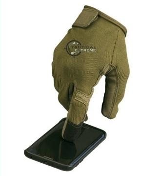 Εικόνα της Γάντια Mil-tec Tactical Touch Χακί