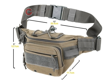 a7211180e21 Εικόνα της Τσαντάκι μέσης Fanny Pack Maxpedition Octa Versipack Μαύρο ...