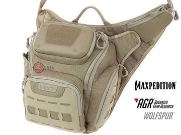 Εικόνα της Τσαντάκι Maxpedition Wolfspur Crossbody Shoulder Bag Μπεζ