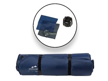 Εικόνα της Αυτοφούσκωτο Υπόστρωμα Explorer Thermo Mat Self Inflating Dark Blue