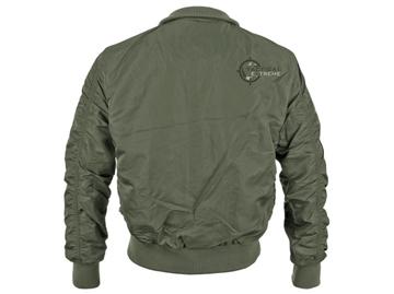 Εικόνα της Μπουφάν US Tactical Flight Jacket Mil-Tec Λαδί