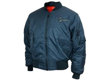 Εικόνα της Μπουφάν Vintage Flight Jacket MA1 Teesar Dark Blue