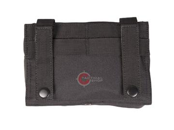 Εικόνα της Τσαντάκι Γενικής Χρήσης Mil-Tec Laser Cut Molle Belt Pouch Μαύρο