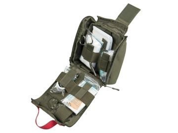 Εικόνα της Φαρμακείο Τσαντάκι Mil-Tec IFAK First Aid Laser Cut Λαδί