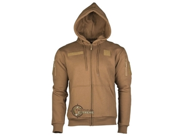 Εικόνα της Ζακέτα Tactical Hoodie Mil-Tec Dark Coyote