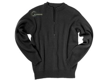Εικόνα της Πουλόβερ Ελβετικού Στρατού Μαύρο Swiss Army Sweater Mil-Tec