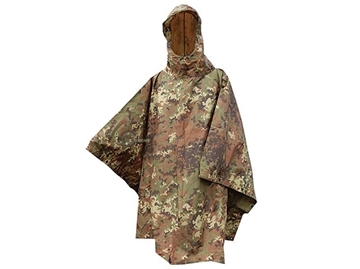 Εικόνα της Wet Weather US Poncho Ripstop Mil-Tec Vegetato