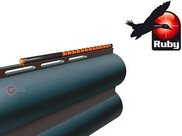 Εικόνα της Αυτοκόλλητο Σκοπευτικό Οπτικής Ίνας Ruby Red 120mm