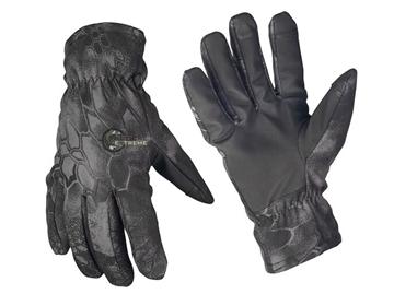 Εικόνα της Γάντια Mil-Tec Softshell με επένδυση Thinsulate Mandra Night