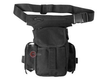 Εικόνα της Τσαντάκι ώμου μηρού Mil-Tec Multi Pack Μαύρο