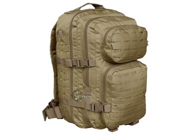 Εικόνα της Σακίδιο Πλάτης Mil-Tec Backpack Assault Laser Cut 45L Μπεζ