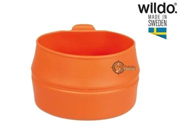 Εικόνα της Πτυσσόμενο Ποτήρι Φλιτζάνι 200 ml Wildo Fold-A-Cup Πορτοκαλί