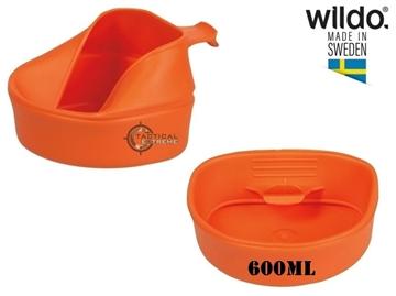 Εικόνα της Πτυσσόμενο Ποτήρι Φλιτζάνι 600 ml Wildo Fold-A-Cup Πορτοκαλί