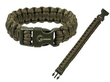 Εικόνα της Βραχιόλι Επιβίωσης Mil-Tec Paracord Bracelet 22mm Λαδί