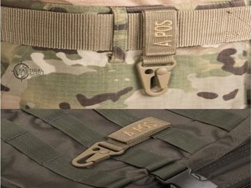 Εικόνα της Mil-Tec Carabiner Tactical Keyholder Μαύρο
