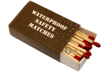 Εικόνα της Αδιάβροχα Σπίρτα Mil-Tec Water Resistant Matches