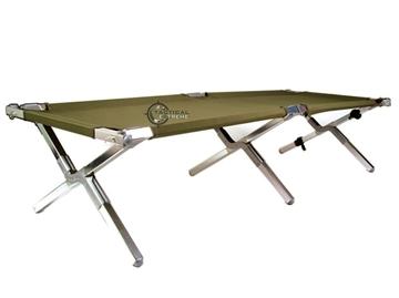 Εικόνα της Πτυσσόμενο Κρεββάτι Εκστρατείας Χακί GEN. II 180 kg load.