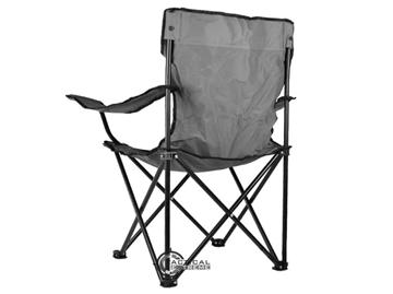 Εικόνα της Αναδιπλούμενη Καρέκλα Relax Μαύρη